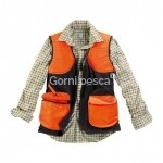 GILET AIGLE ADIRONDACK BRONZE/ORANGE